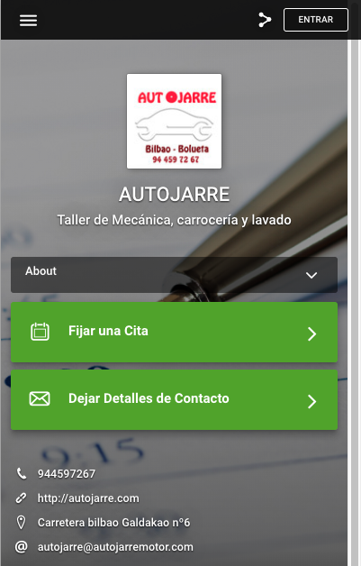 INTERFACE MOVIL AUTOJARRE